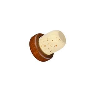 Bouchon à tête en bois marron